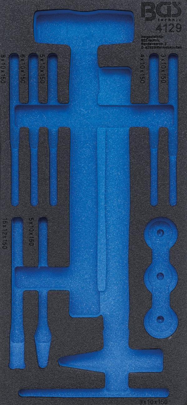 Werkstattwageneinlage 1/3   leer   für Art. 4129